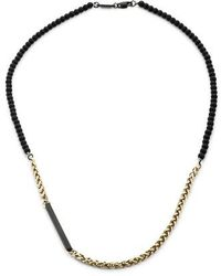 Vitaly - Helix Necklace - Lyst