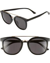Gucci - 52mm Round Sunglasses - Lyst