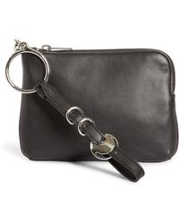 Alexander Wang Small Ace Nappa Leather Wristlet - Black