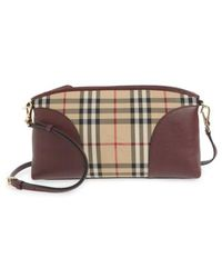 1d22a90694bd Burberry -  small Chichester - Horseferry Check  Shoulder Bag - - Lyst