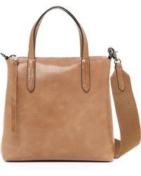 Botkier Highline Leather Satchel - Brown