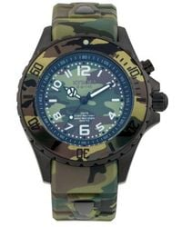 Kyboe - ! Camouflage Silicone Strap Watch - Lyst