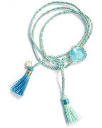 Kendra Scott Kenzie Friendship Bracelet - Blue