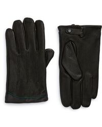 Ted Baker   Roots Leather Driving Gloves   Lyst