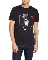 HUGO - Dog Print T-shirt - Lyst