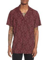 The Rail - Camp Collar Shirt - Lyst