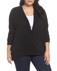 Sejour | Hacci High/low Cardigan | Lyst