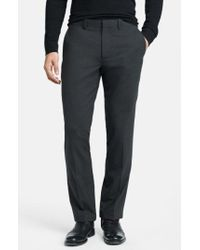 Theory - 'marlo New Tailor' Slim Fit Pants - Lyst