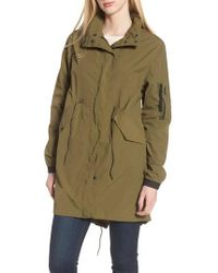 Penfield - Hooded Raincoat - Lyst