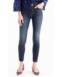 J.Crew | J.crew High Rise Toothpick Jeans | Lyst