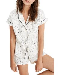 Madewell - Flannel Bedtime Pajamas - Lyst