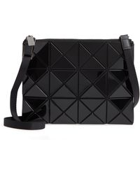 Bao Bao Issey Miyake Lucent Cross Body Bag - Black