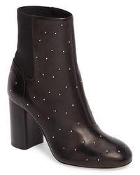 Rag & Bone Agnes Studded Leather Ankle Boots - Black