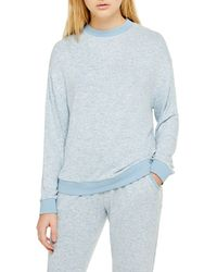TOPSHOP Supersoft Sweatshirt - Blue