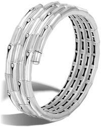 John Hardy - Bamboo Four Coil Bracelet - Lyst