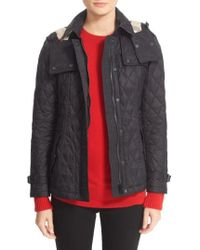 Burberry Finsbridge Quilted Jacket - Black