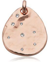 Monica Vinader Siren Scatter Semiprecious Stone Pendant Charm - Multicolor