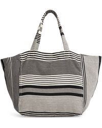 Mercado Global Blanca Woven Tote - Black