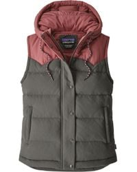 Patagonia - 'bivy' Water Repellent 600 Fill Power Down Vest - Lyst