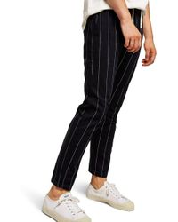 5d594c8f00a72c Empire Fide Alta Decurrit Graphic Tank.  30 Sold out. Nordstrom · TOPMAN -  Pinstripe Skinny Trousers - Lyst