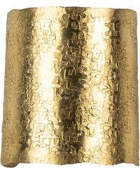 Nashelle Large Wander Cuff Ring - Metallic