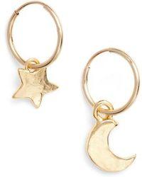 BRITT BOLTON   Moon & Star Drop Earrings   Lyst