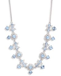Givenchy - Crystal Frontal Necklace - Lyst