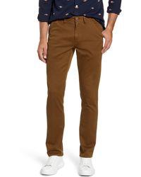 Bonobos Slim Fit Five-pocket Bedford Cord Pants - Brown