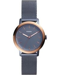 Fossil - Neely Mesh Strap Watch - Lyst