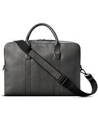 Shinola Guardian Leather Briefcase - Black