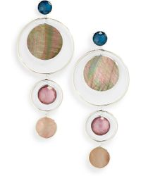 Ippolita - Wonderland Semiprecious Stone Statement Earrings - Lyst