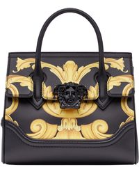 Versace - Palazzo Empire Medium Baroque Print Leather Satchel - - Lyst 47dec3819df12