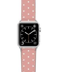 Casetify Polka Dots Saffiano Faux Leather Apple Watch Strap - Multicolor