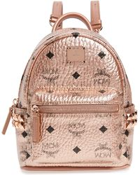 MCM Stark Visetos Micro Canvas Backpack - Multicolour