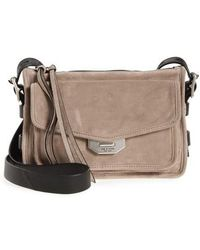 Rag & Bone - Small Leather Field Messenger Bag - - Lyst