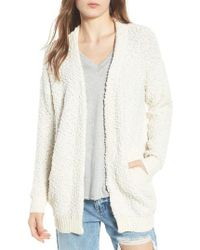 Dreamers By Debut - Nubby Cardigan - Lyst