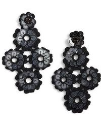 Kate Spade | Posy Grove Sequin Statement Earrings | Lyst