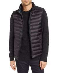 Tumi - Down Puffer Hooded Vest - Lyst