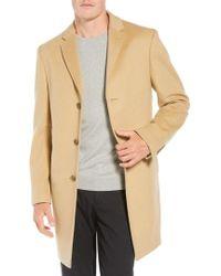 John W. Nordstrom - John W. Nordstrom Mason Wool & Cashmere Overcoat - Lyst