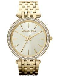 Michael Kors | Michael Kors 'darci' Round Bracelet Watch | Lyst