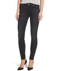 7 For All Mankind - 7 For All Mankind B(air) - The Skinny High Waist Jeans - Lyst