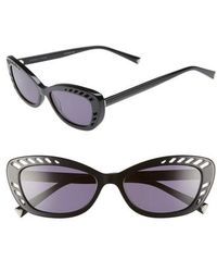 Kendall + Kylie - Extreme 55mm Cat Eye Sunglasses - Lyst