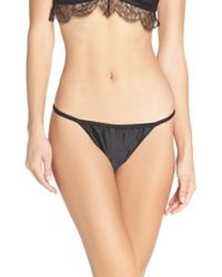 Love Stories - Room Service Lace Thong - Lyst