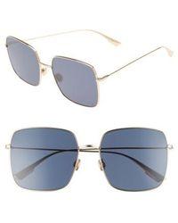 Dior - Stellaire 1 59mm Square Sunglasses - Lyst