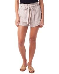 Rhythm Cancun Seersucker Cover-up Shorts - Multicolor