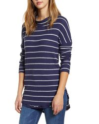 Caslon - Caslon Thermal Knit Tunic - Lyst