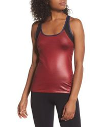 BoomBoom Athletica - Boomboom Athletica Glossy Tank - Lyst