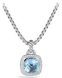 David Yurman - 'albion' Pendant And Diamonds - Lyst