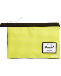 Herschel Supply Co. Large Network Ripstop Pouch - Blue