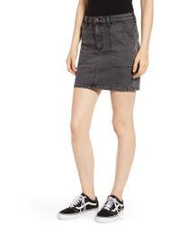 Wrangler Denim Utility Miniskirt - Multicolour
